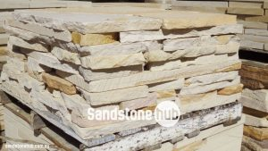 Sandstone Crazy Pavers On Pallet Yellow White