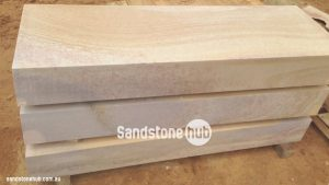 Sandstone Blocks And Steps To Die For: Diamond Sawn Finish