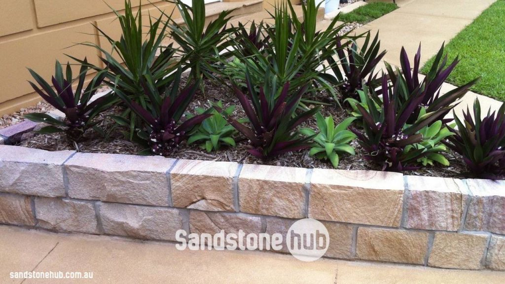 Sandstone bricks edging free quote for Garden edging adelaide