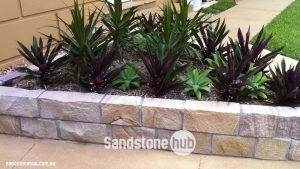 Sandstone Bricks And Garden Edging