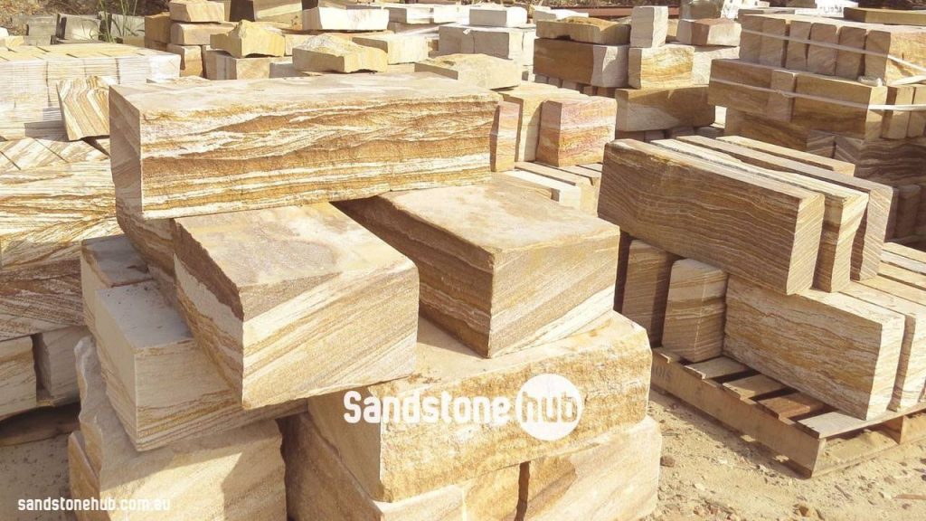 Sandstone Block Logs Slabs And Steps