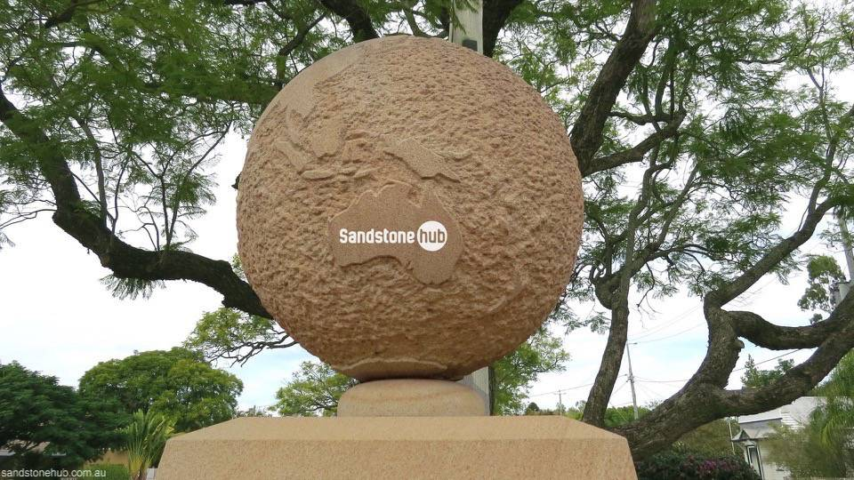 Sandstone Monument Earth Project