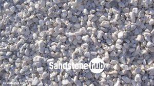Sandstone Pebbles White Ash Colour