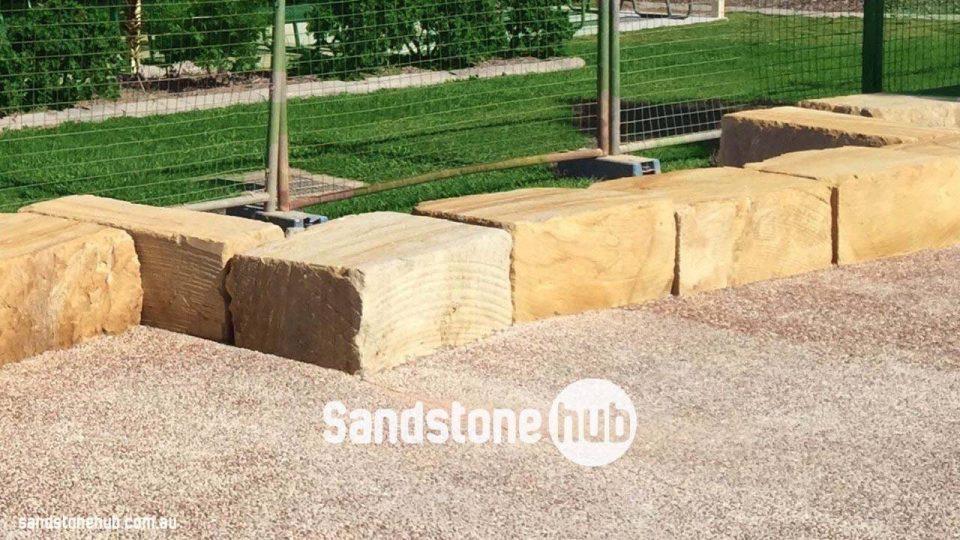 Cut Sandstone Blocks : Sandstone seating bench free quote sandstonehub