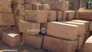 Sandstone Blocks Logs A Grade Wheel Blocks Stacked