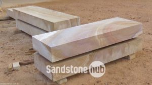 Sandstone Blocks Logs Steps Diamond cut Rectangle shape Purple and Tiger strips