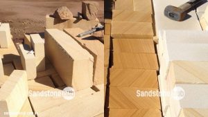 Sandstone Diamond Sawn Blocks And Bricks