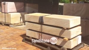 Sandstone Diamond Sawn Blocks Logs And Steps