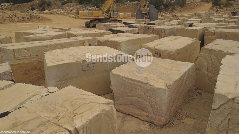 Sandstone Large blocks for exports or made into factory products