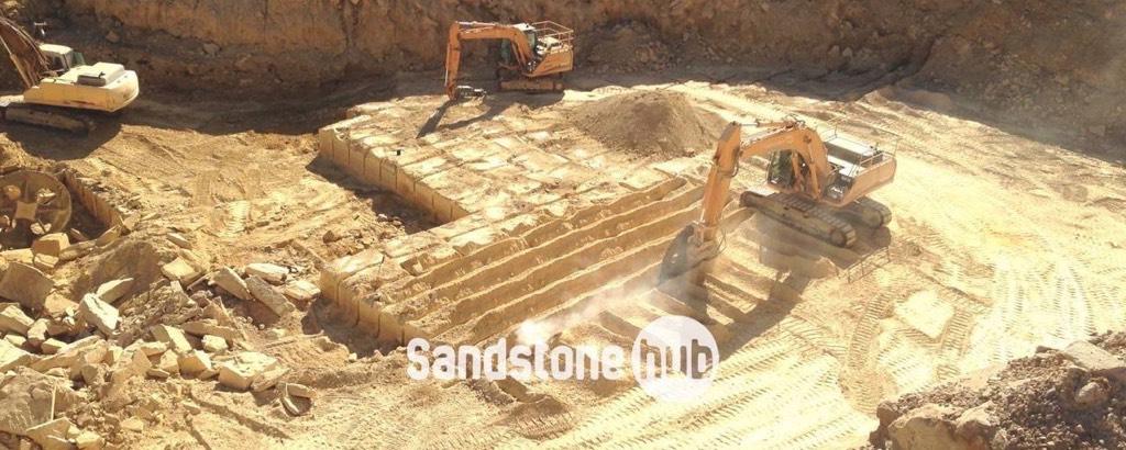Australian Sandstone Quarry