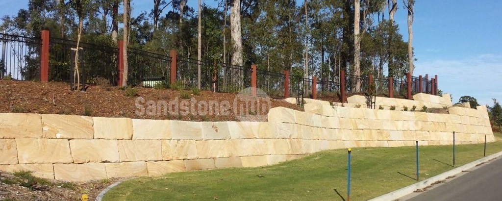 Sandstone Retaining Wall Blocks
