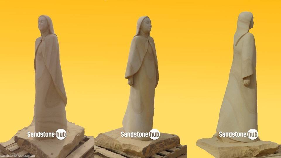 Sandstone Monuments and Statues Made to Order