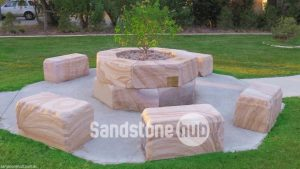Sandstone Feature in Public Areas, Parks