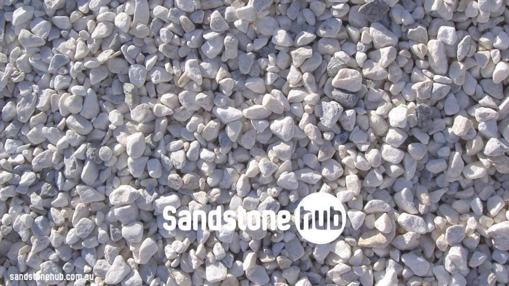 Sandstone Pebbles White Ash Colour