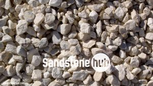 Sandstone Pebble Rocks White Crushed