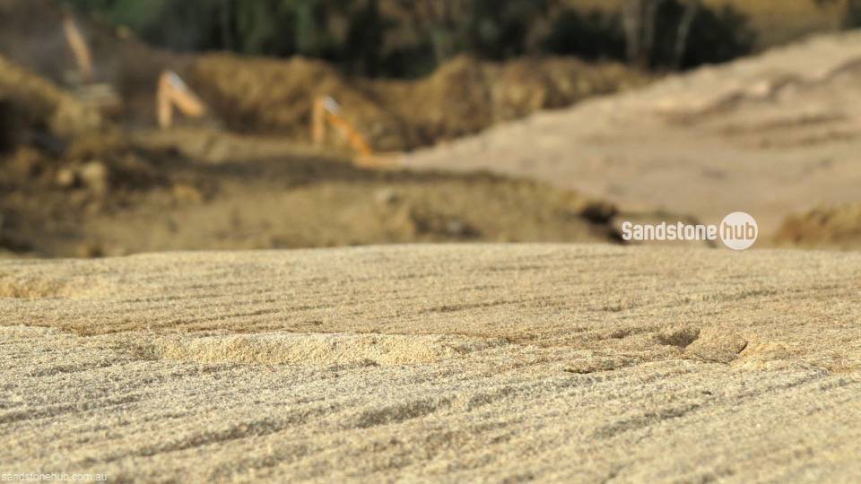 Sandstone Quarry Field Feature Artistic Photo
