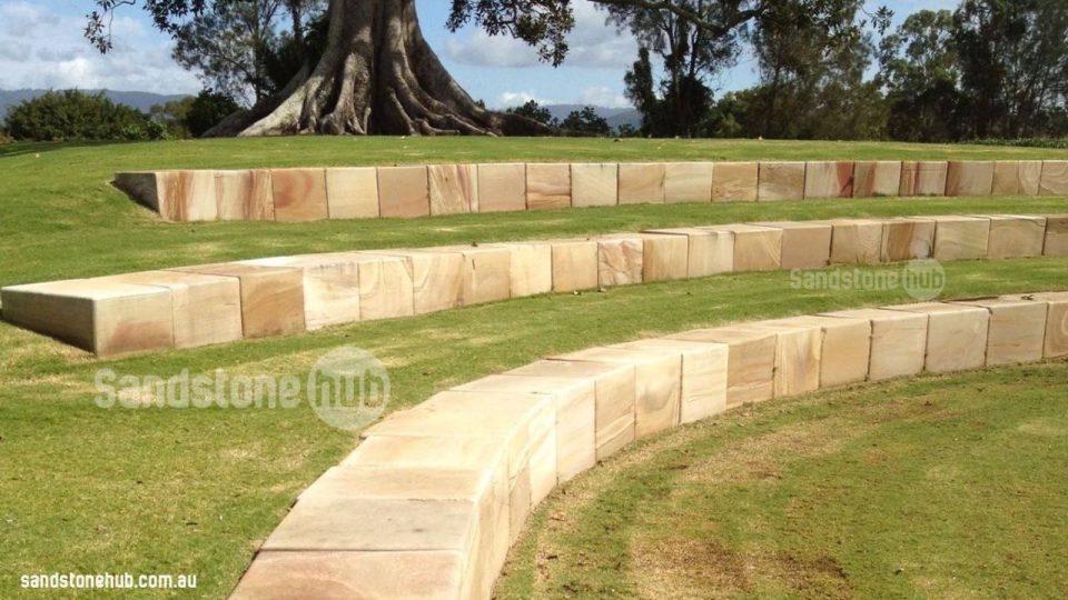 Cut Sandstone Blocks : Sandstone hub products blocks logs wall sandstonehub