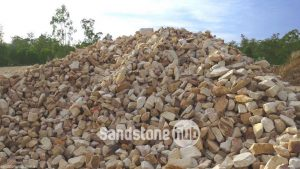 Sandstone Manhandable Rocks and Stones 50 mm - 150mm Mixed Colours