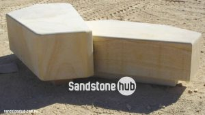 Sandstone Seats Diamond Sawn With Finished Edges