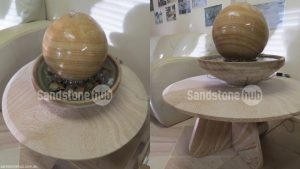 Sandstone Table and Water Feature Items