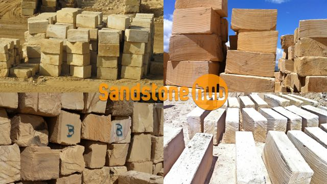 Sandstone Quarry Blocks