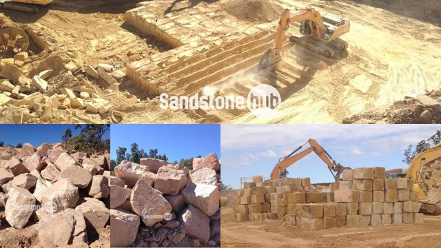 Sandstone Quarry Products