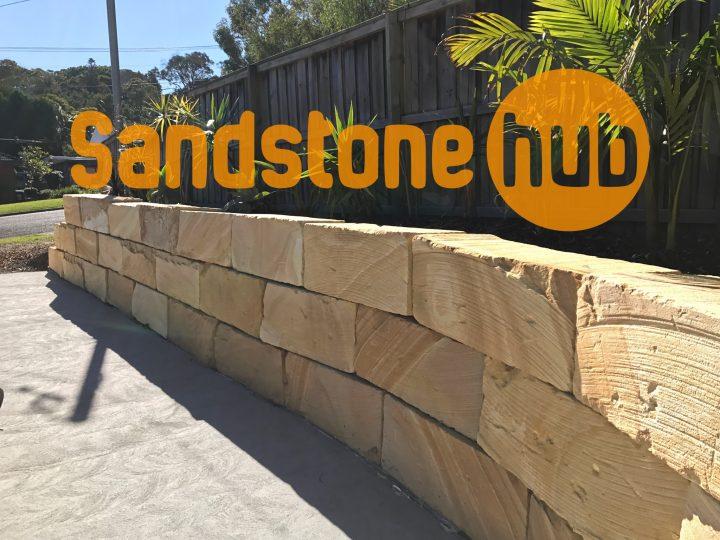 Sandstone Hub Retaining walls and Blocks