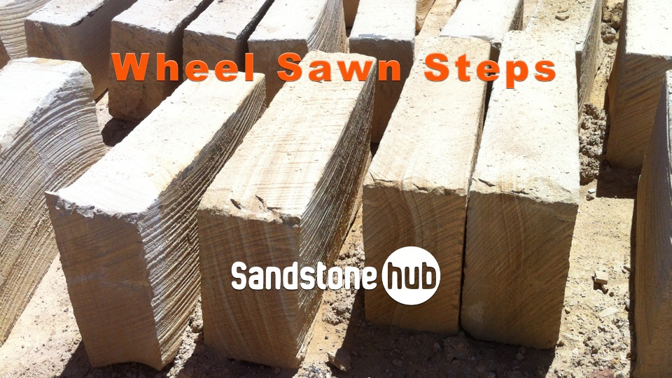 Quarry Wheel Sawn Steps