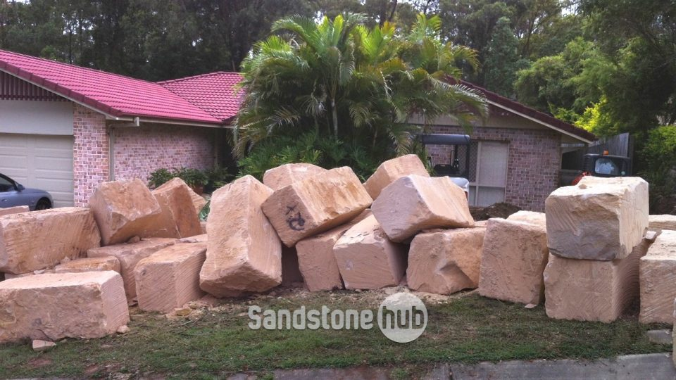 Sandstone Quarry Sawn B Plus Grade Blocks